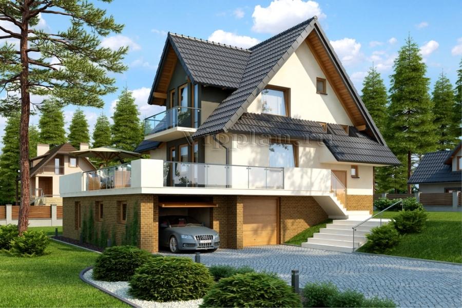 Дом с цокольным этажом